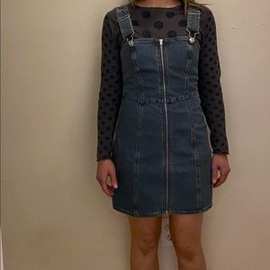 Forever 21  Zip-Up Jean Dress